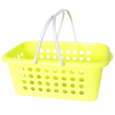 Carryable Storage Basket-Green 1p