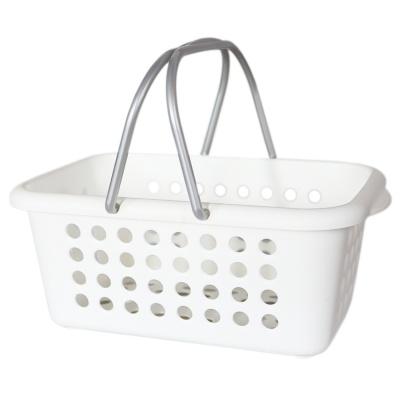 Carryable Storage Basket-White 1p