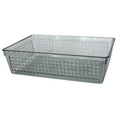 Inomate Basket(L)(Clear Gray) 1p