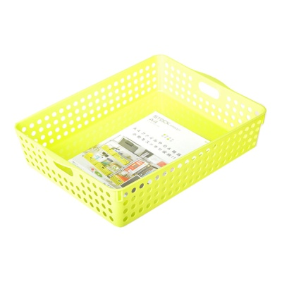 Inomata Stock Basket (Green) 26.4*35.3*8.1