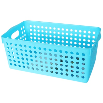 Inomata Stock Basket(Wide Blue) 16.6*29.3*11.5