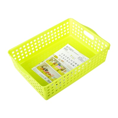 Inomata Stock Basket (Green) 21.3*30.2*8.7