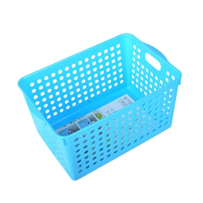Inomata Deep Stock Basket (Blue) 18*27.4*14.3