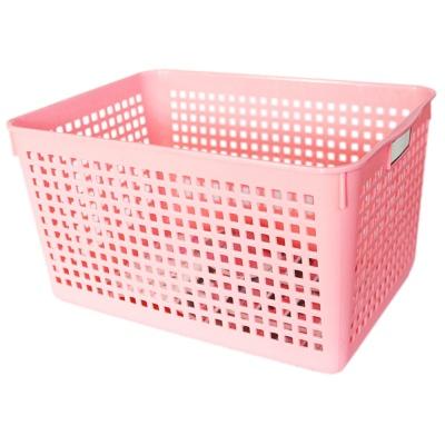 Mesh Storage Basket(Pink) 18.2*26.4*14.2