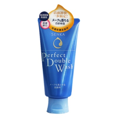 Senka Perfect Double Wash 120g