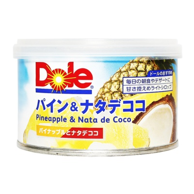 Dole Canned Pineapple And Nata De Coco In Light Syrup 227g