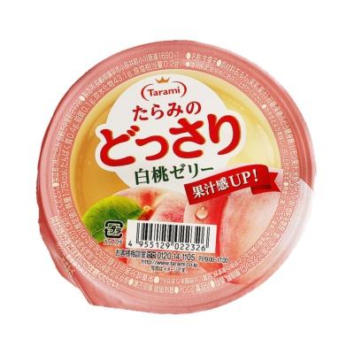 Tarami White Peach Jelly 230g