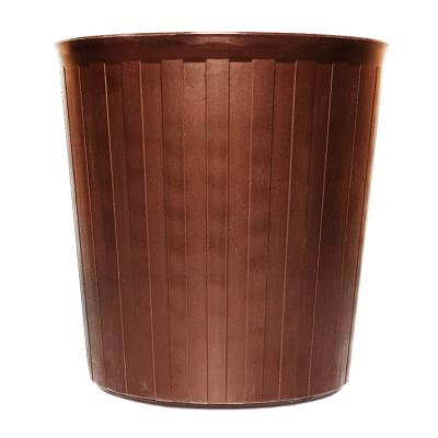 Inomata Trash Can(Brown) 5L