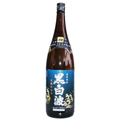 Kuro Shiranami Satsuma Shuzo Sweet Potato Shochu 1.8L