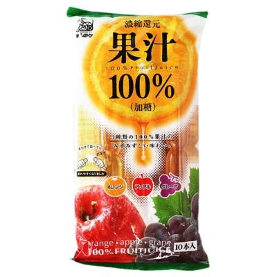Orange Apple Grape Juice Popsicle 63ml*10