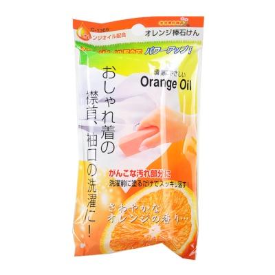 浪漫樱花橘子香味长条衣物清洗皂 100g