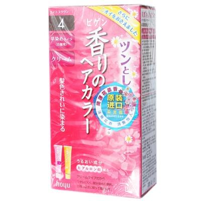 Bigen Floral&Fruity Hair Cream(Bright Brown) 40g*2