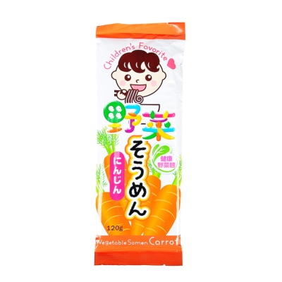 Vegetable Somen Carrot Noodle 120g