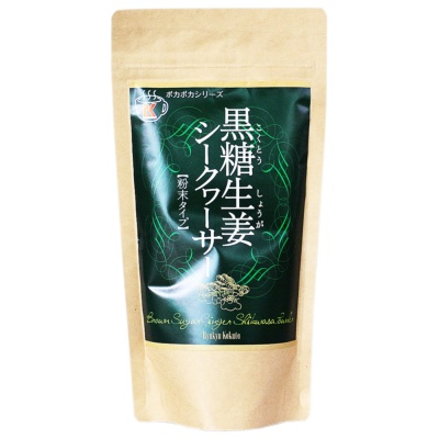 Byukyu kokuto lemon Ginger Brown Sugar solid drink 180g