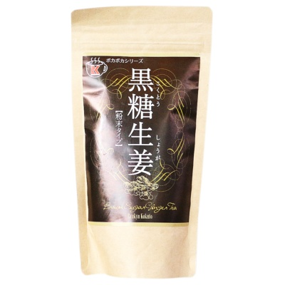 Byukyu Kokuto Brown Sugar Ginger Tea 200g