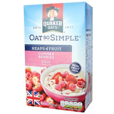 Quaker Summer Berries Oats 282g