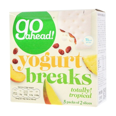 Go Ahead Yogurt Breakes(Totally Tropical) 178g