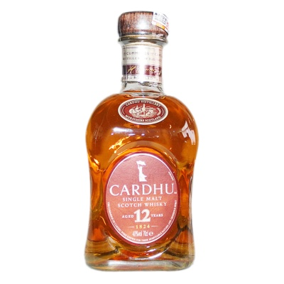 Cardhu Single Malt Scotch Whisky (Aged 12 Years) 700ml