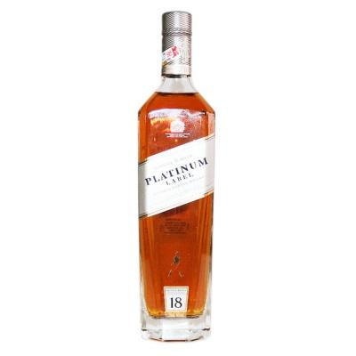 尊尼获加铂金18年调配苏格兰威士忌 750ml