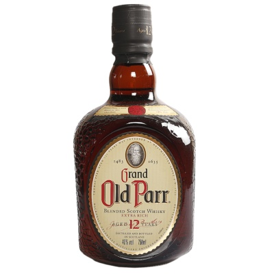 Grand Old Parr Blended Scoth Whisky 750ml