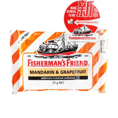 Fisherman`s Friend Grapefruit Flavor(Sugar Free) 25g