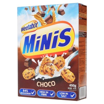Minis Choc Wheat Cookie 450g
