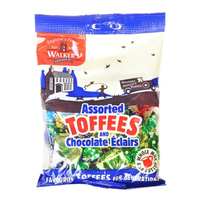 Walker's Assorted Toffees 150g