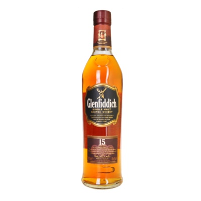 Glenfiddich 15 Years Old Single Malt Scotch Whisky 700ml