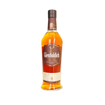 Glenfiddich Single Malt 18 Years Whisky 750ml