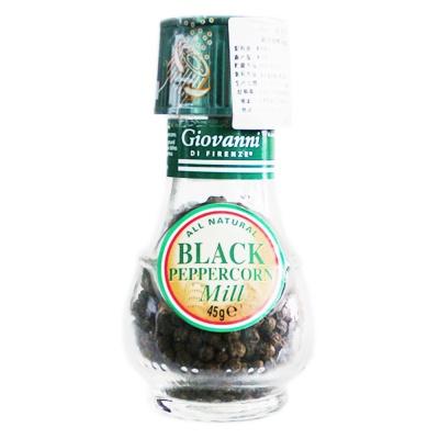 Giovanni Di Firenze Black Pepper Mill 45g