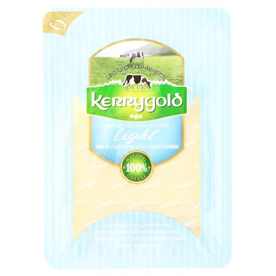 Kerrygold Light Cheddar Cheese Slices 150g