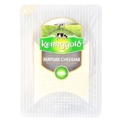 Kerrygold Mature Cheddar Cheese Slices 150g