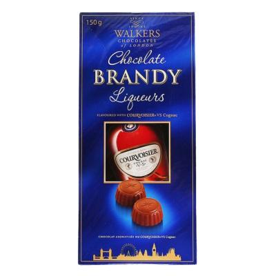Walkers Brandy Liqueurs Dark Chocolate 150g