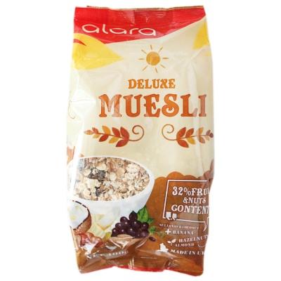 Alara Deluxe Muesli With 32% Fruit & Nut Content 400g