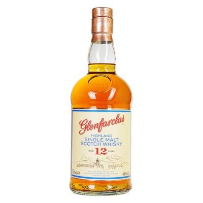 格兰花格12年单一麦芽苏格兰威士忌 700ml