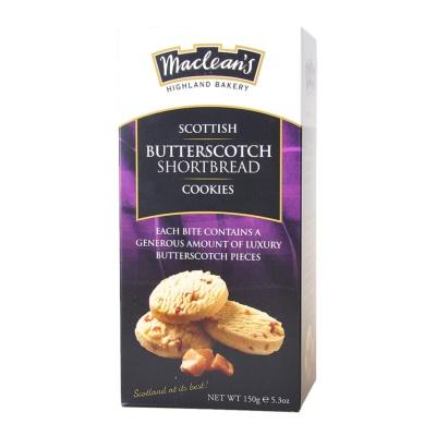 Maclean's Highland Bakery Butterscotch Shortbread Cookies 150g