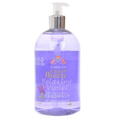 English Breeze Relaxing Violet Hand Wash 500ml