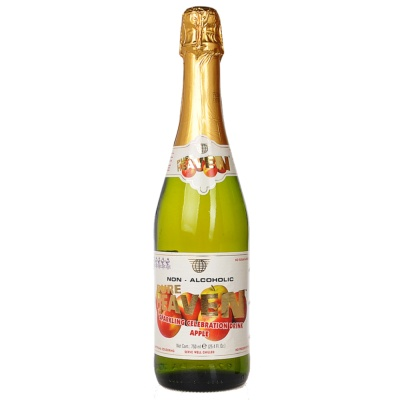 Pure Heaven Apple Flavor Sparkling Drink 750ml