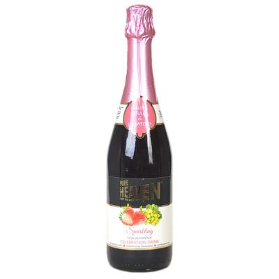 Heaven Sparkling Drink Grape&Strawberry 750ml