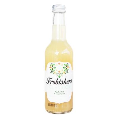 Frobishers Elderberry Pear Apple Sparkling Juice Drink 330ml