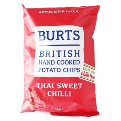 Burts British Hand Cooked Potato Chips(Thai Sweet Chili) 150g