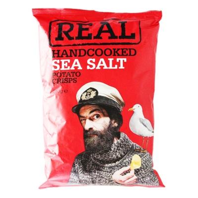 Real Handcooked Sea Salt Potato Ceisps 150g