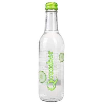 Qcumber Cucumber Flavor Sparkling Water 330ml