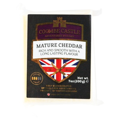 Coombe Castle Mature Cheddar 200g