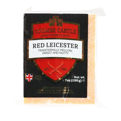 Coombe Castle Red Leicester Cheese 200g