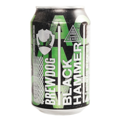 Brewdog Black Hammer Ruthless Black IPA 330ml