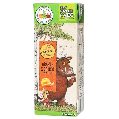Appy Kids Co Orange&Carrot Juice Drink 200ml