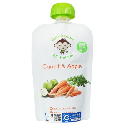 Little Freddie Carrot & Apple Sauce 90g