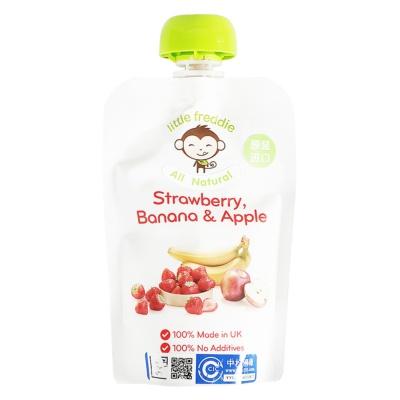小皮草莓香蕉苹果泥 90g