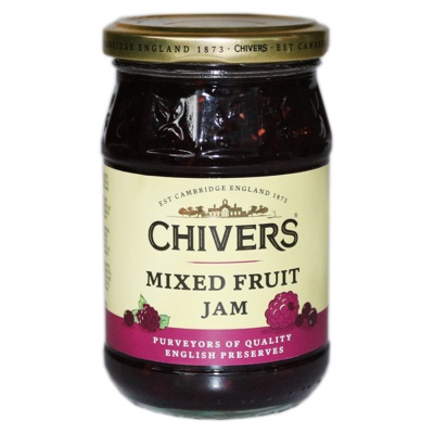 Chivers Mixed Fruit Jam 340g